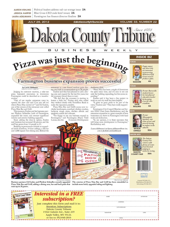 7/26/2012 - dakota county tribune business weekly by dakota county