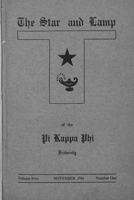 1916_4_Nov by Pi Kappa Phi - issuu