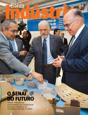 401375f13d585 Revista Bahia Indústria - Junho Julho 2012 - Ano XVIII nº 221