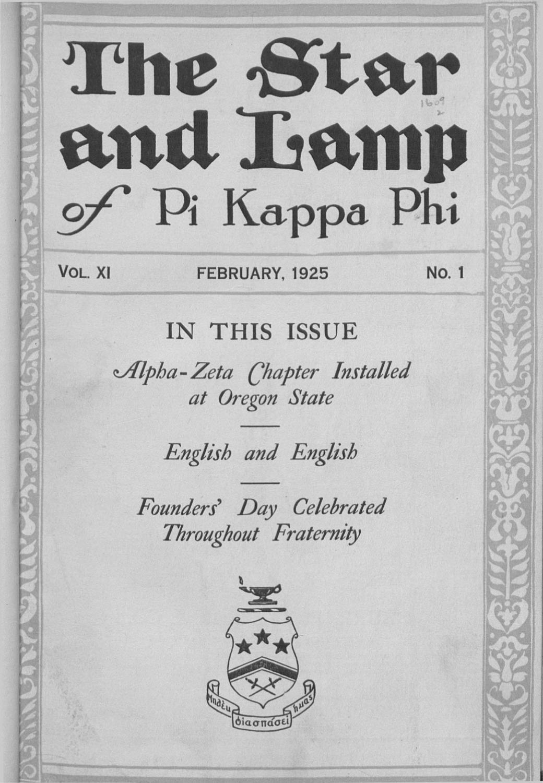 1925_1_Feb by Pi Kappa Phi - issuu