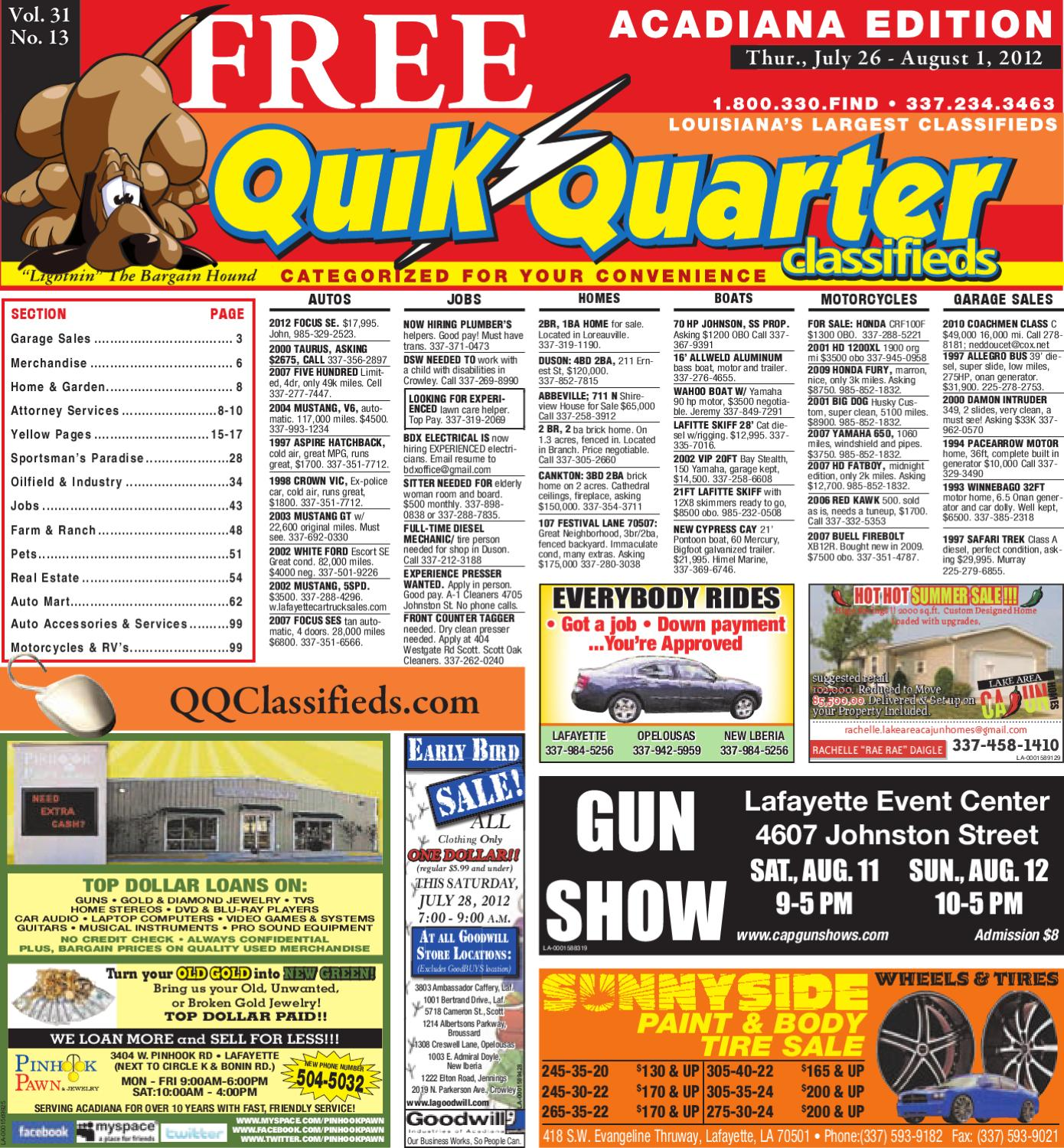 Qq acadiana by part of the usa today network issuu fandeluxe Gallery