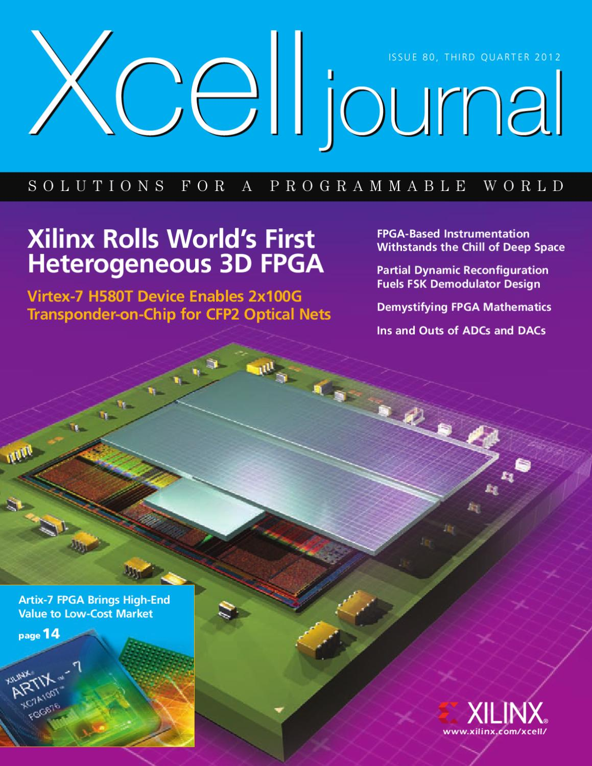 Xcell Journal Issue 80 By Xilinx Publications Issuu 2r Ladder Dac Public Circuit Online Simulator