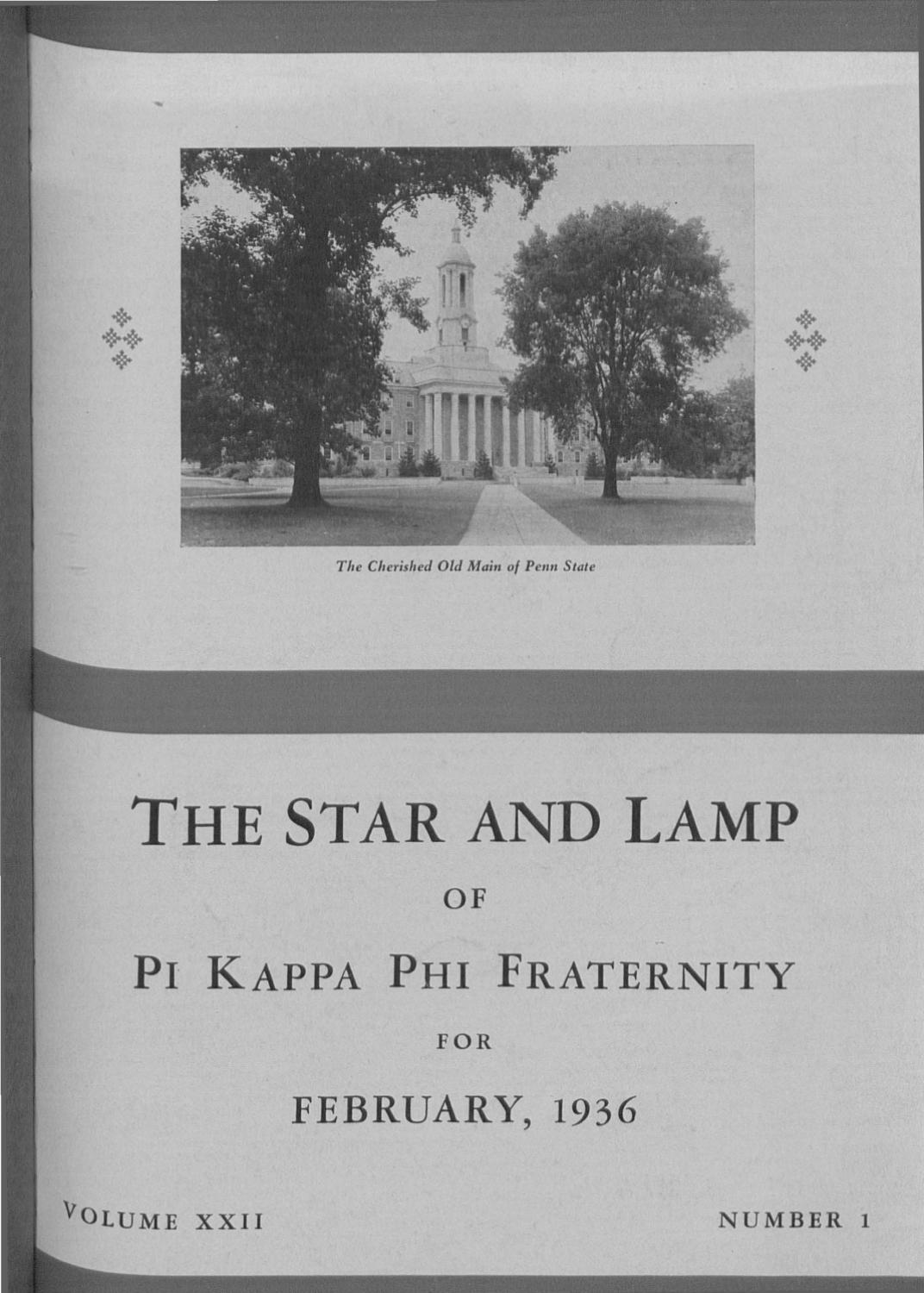 1936 1 Feb by Pi Kappa Phi - issuu 5e5bec89f