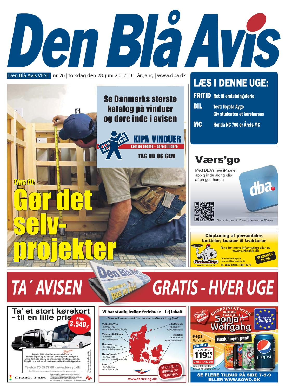 Picture of: Den Bla Avis Vest 26 2012 By Grafik Dba Issuu