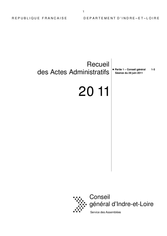 Recueil Juillet 1 5 By Conseil Général 37 Conseil Général 37
