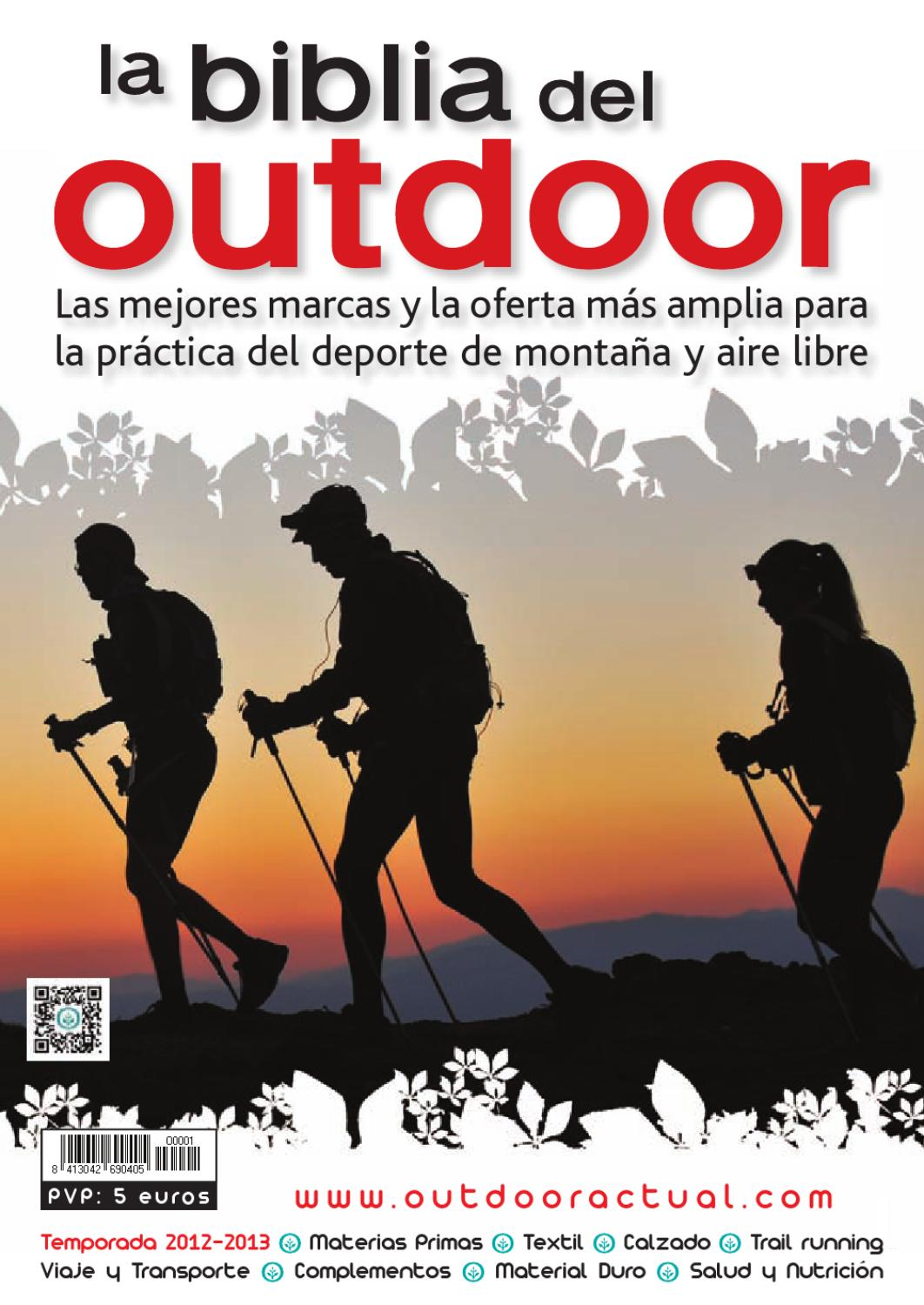 best service 4f08d e1c71 La Biblia del Outdoor 2012-2013 by Outdoor Actual - issuu