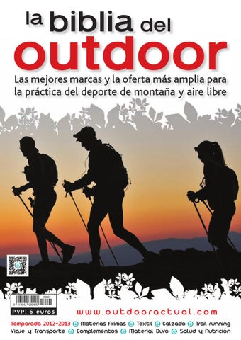 e1aac06f4a La Biblia del Outdoor 2012-2013 by Outdoor Actual - issuu