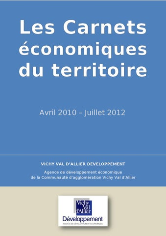Carnets Eco Ete 2012 By Vichy Communaute Developpement