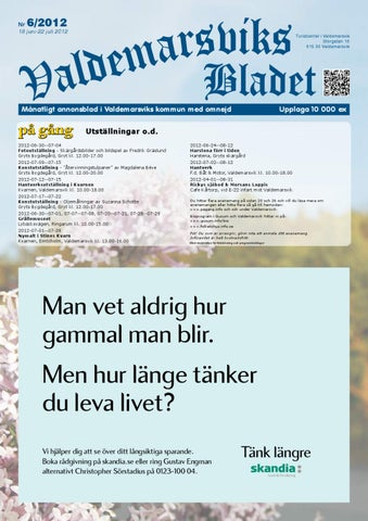 0be6cad65ef8 ValdemarsviksBladet juni 2012 by Turistcenter i Valdemarsvik AB - issuu