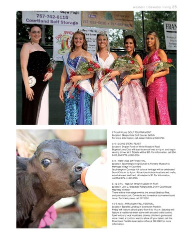 Western Tidewater Living - Summer 2012 by The Tidewater News - issuu