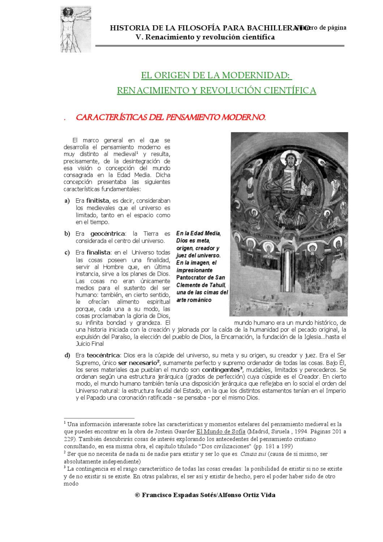 Renacimiento y revolución científica by francisco espadas sotés - issuu