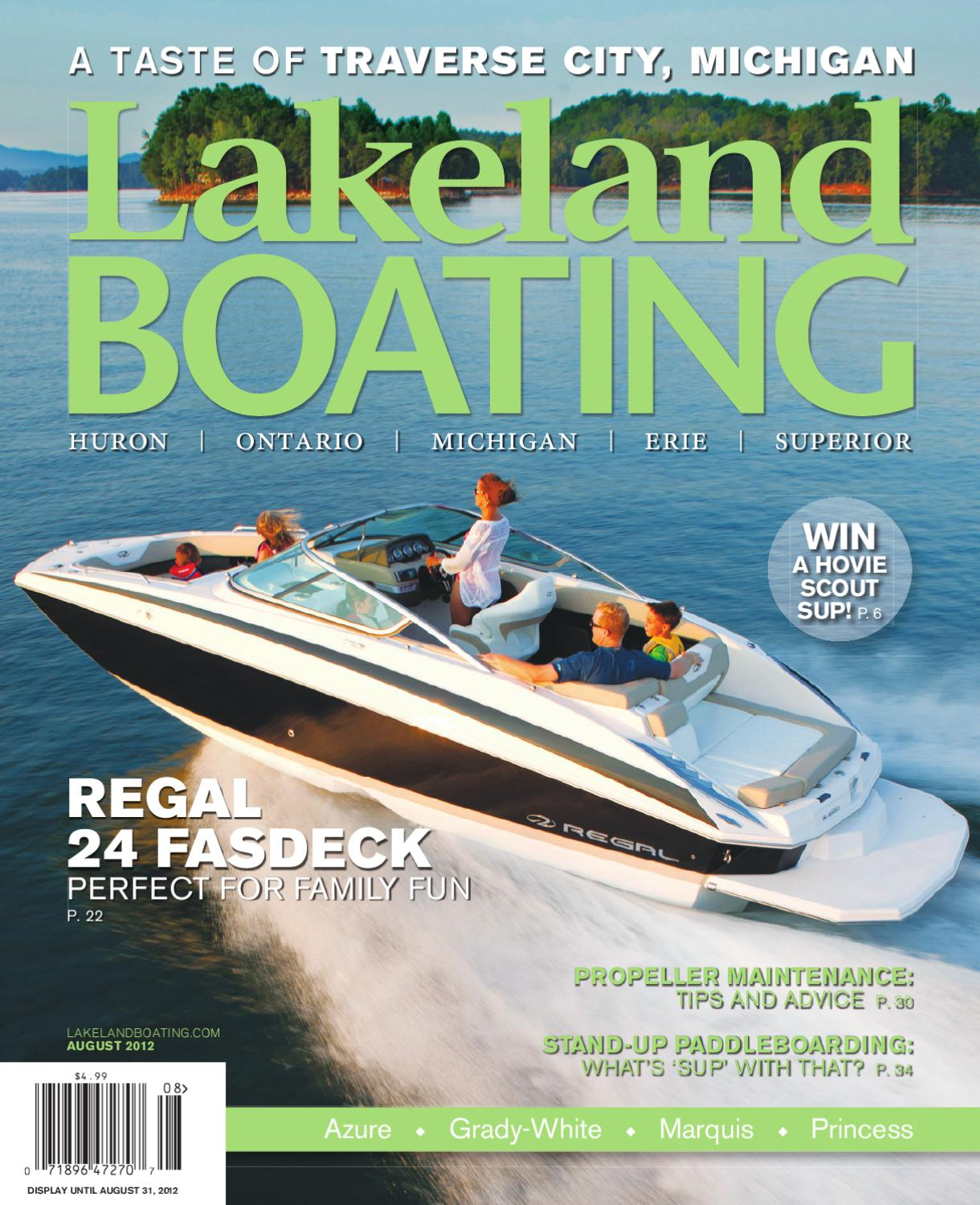 Lakeland Boating August 2012 By Magazine Issuu 1977 Bayliner Wiring Diagram