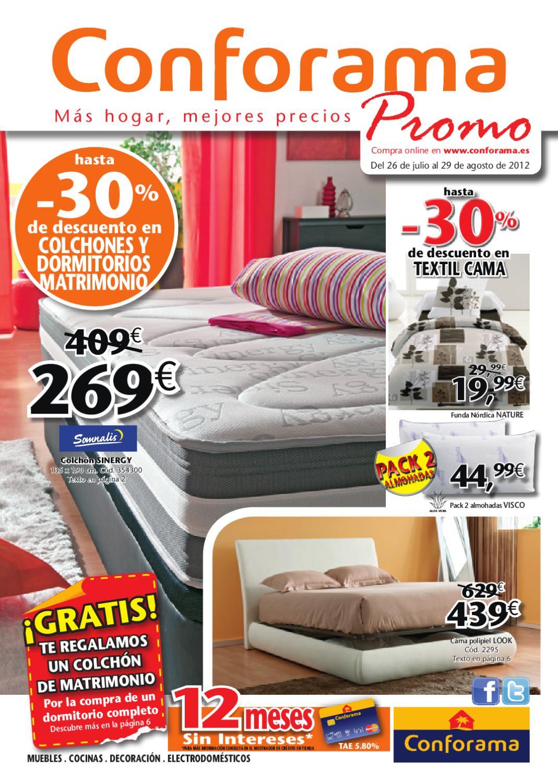 Cat logo conforama colchones verano 2012 by - Ver catalogo de conforama ...