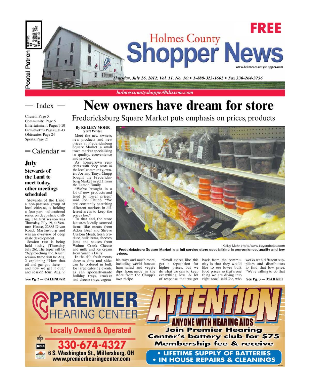 b3e5ac7d Holmes County Shopper, July 26, 2012 by GateHouse Media NEO - issuu