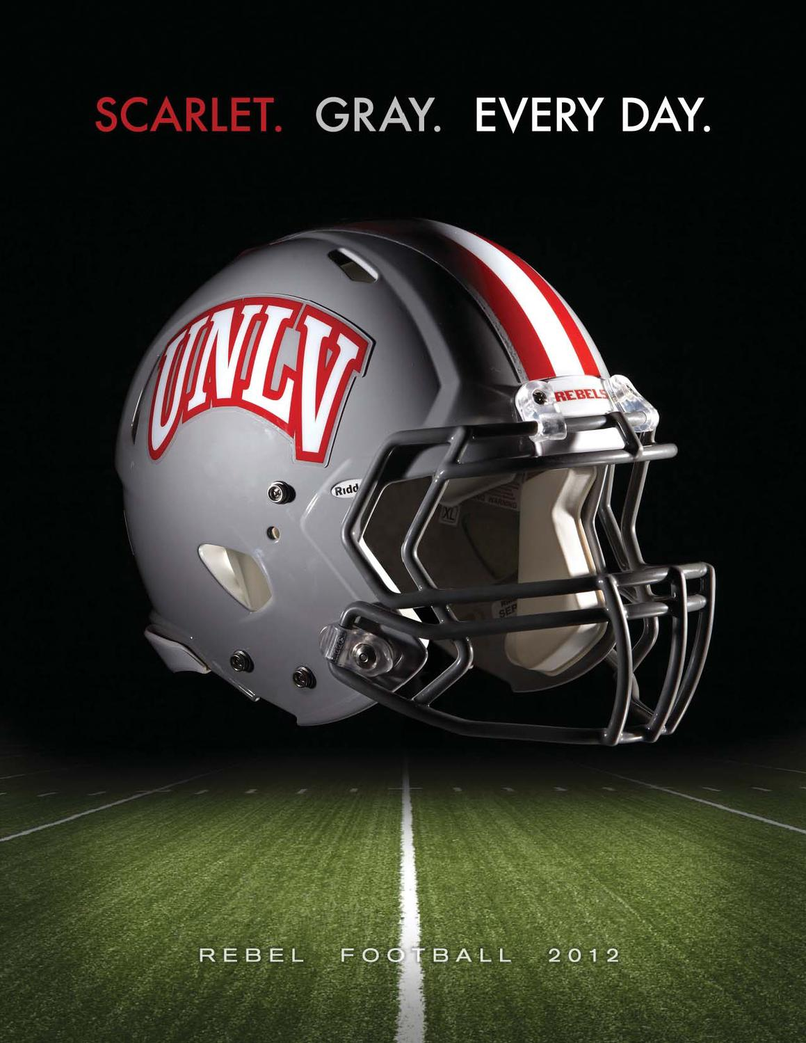 bf2d500b7 2012 UNLV Football Media Guide by UNLV Sports Information - issuu