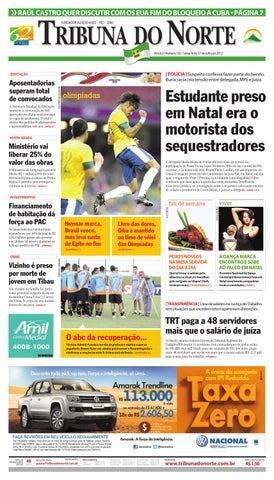 edb3522a59f Tribuna do Norte - 27 07 2012 by Empresa Jornalística Tribuna do ...