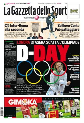Gazzetta dello Sport 27 07 2012  4ef5f370df1