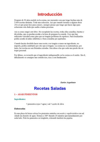1069 Recetas De Cocina Karlos Arguiñano By Alpanpan Cocina