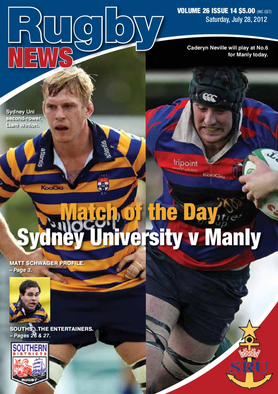 Rugby News Issue 14 by Jim Davis - issuu