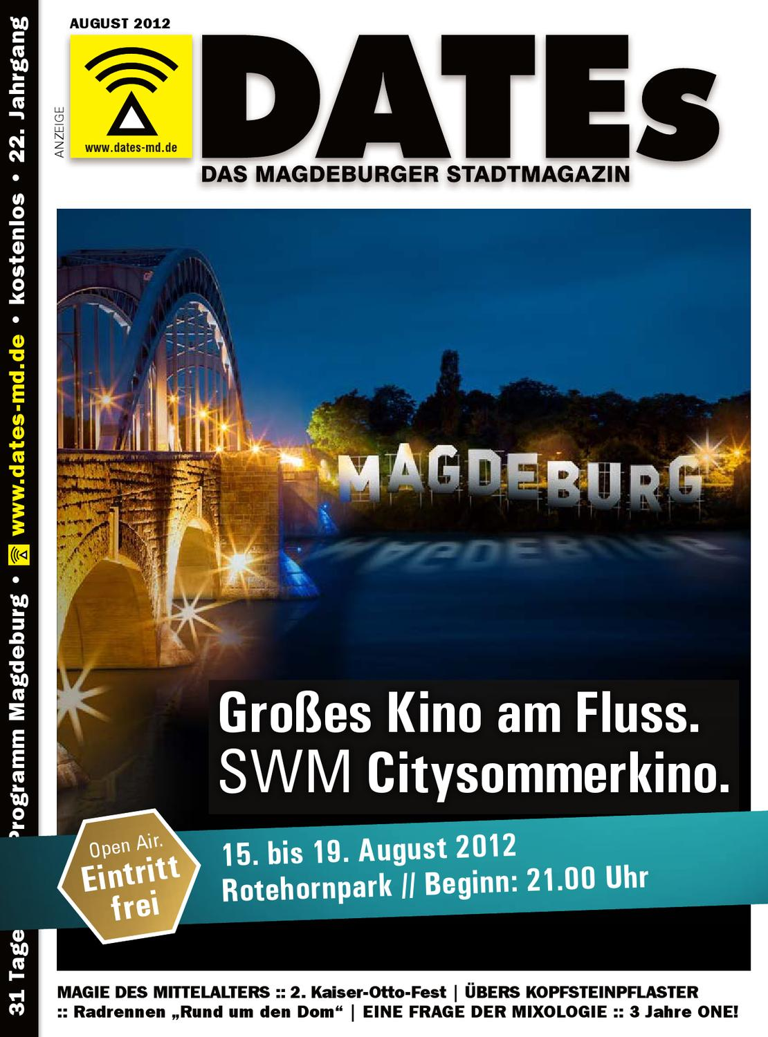 dates magdeburg august 2012 by dates medien verlag gmbh issuu. Black Bedroom Furniture Sets. Home Design Ideas