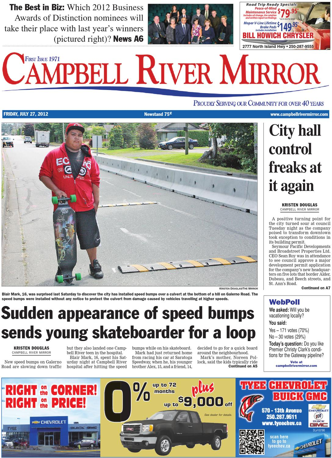 Campbell River Mirror July 27 2012 By Black Press Issuu Rotative Speed Regulator Borer Driller Controller