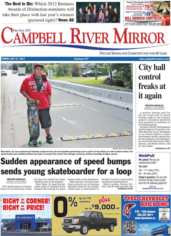 Campbell River Mirror July 27 2012 By Black Press Issuu Rotative Speed Regulator Borer Driller Controller