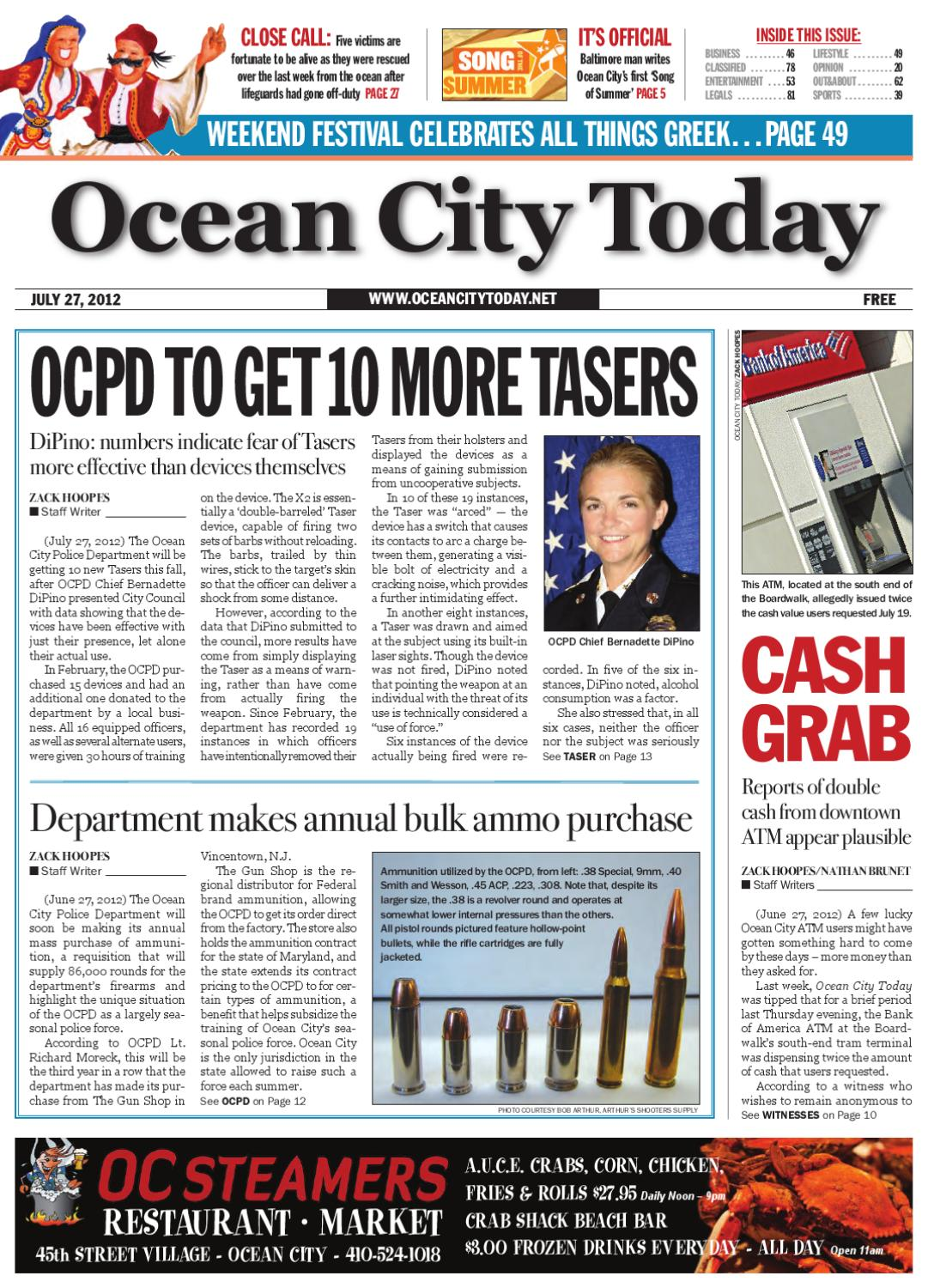 d9944d1e85490 Ocean City Today 07.27.12 by ocean city today - issuu