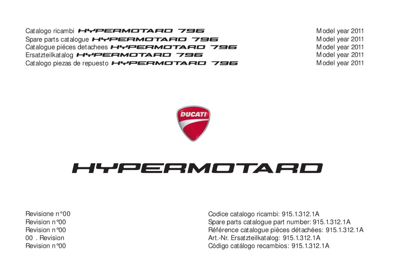 Hym796 Eu 2011 By Italmovimenti Ecuador Issuu Hypermotard 796 Engine Diagram Valve