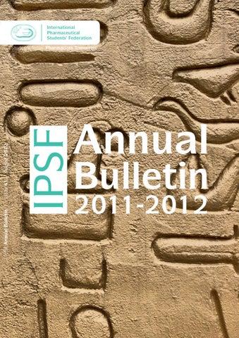 IPSF Annual Bulletin 41 August 2012 by International