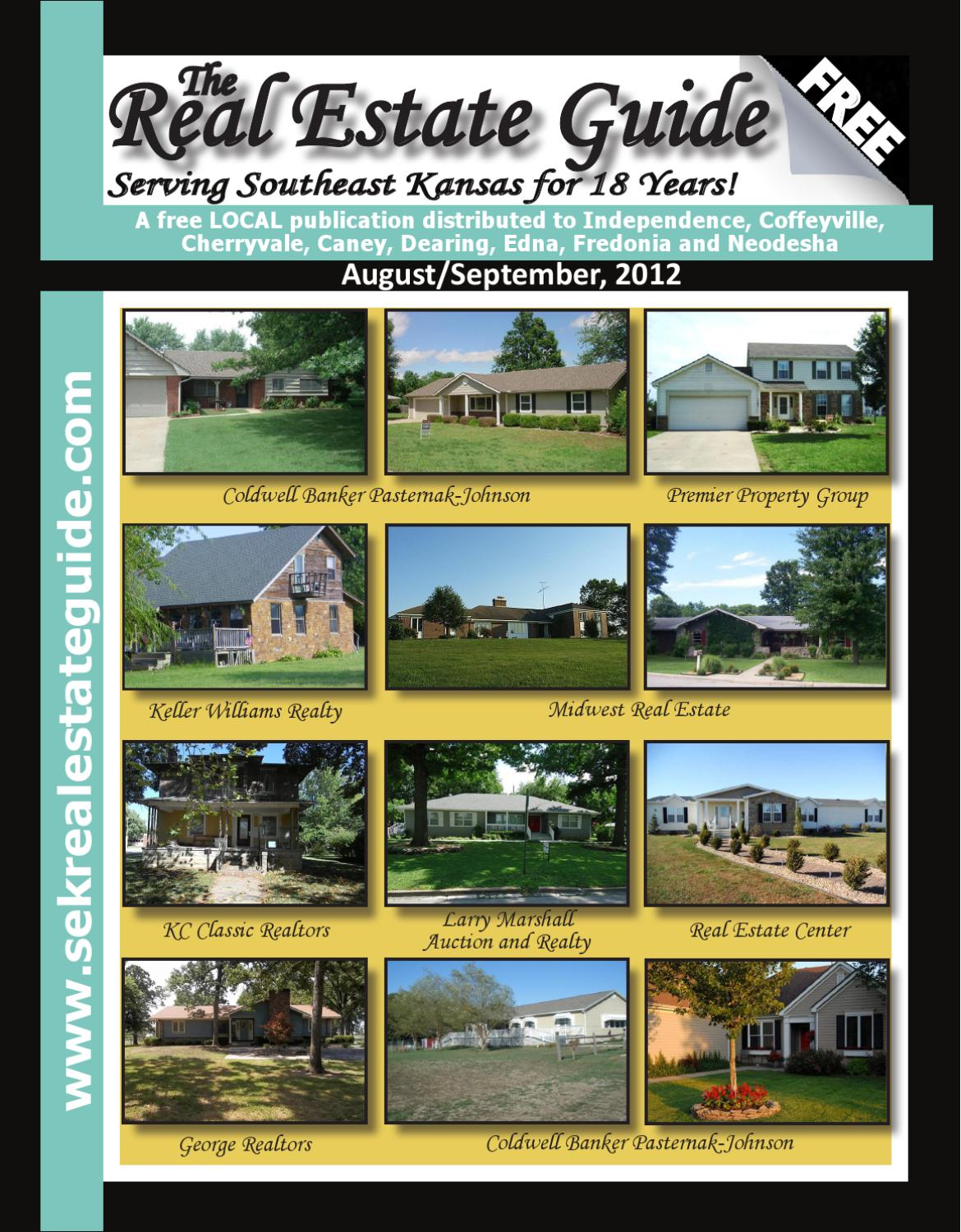 The Real Estate Guide Of Southeast Kansas Aug Sept 2012