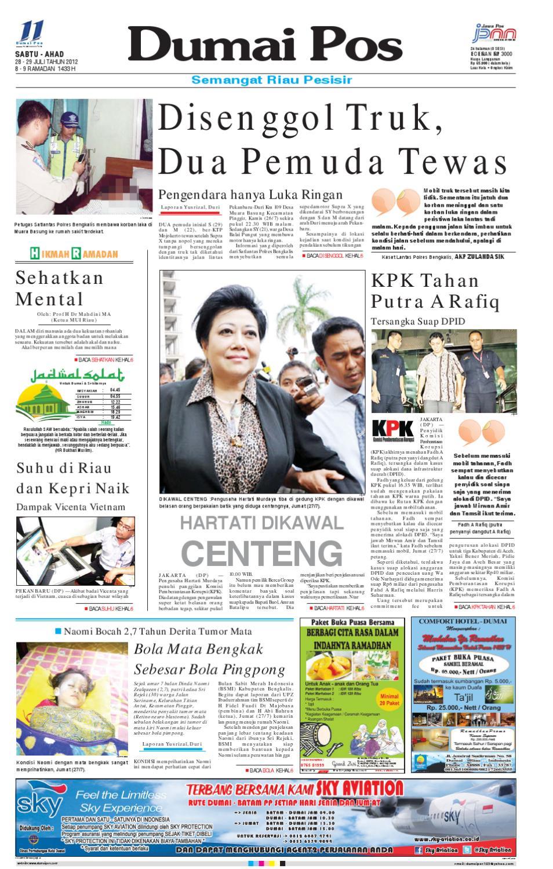 Dumai Pos Sabtu-Minggu 28-29 Juli 2012 by Dumai Pos - issuu 6790ae4b49
