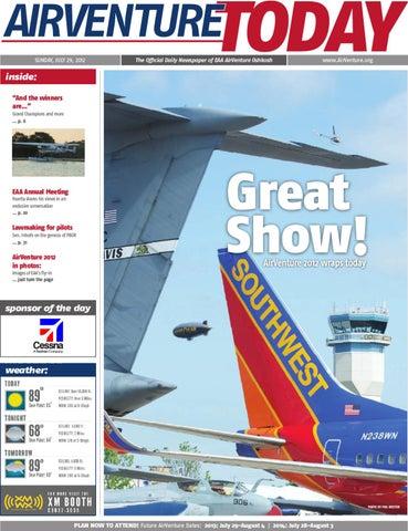 EAA AirVenture, Sunday, July 29, 2012