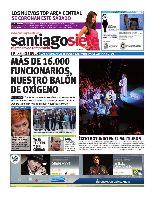 Santiagosiete 156 by Mediasiete - issuu 7839d99360c