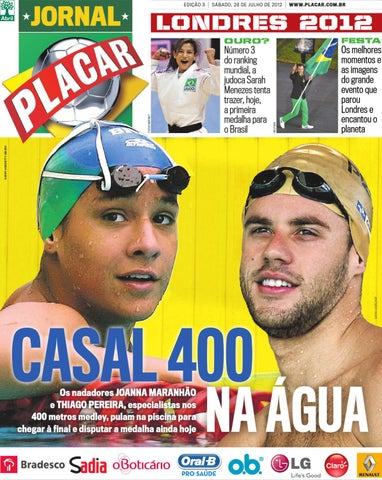 5e69028cd2 Jornal Placar Londres 2012 Ed 003 by Revista Placar - issuu