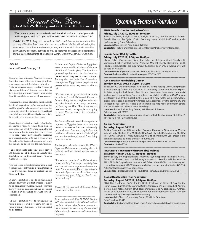 The Muslim Link - July 27, 2012 by The Muslim Link - issuu