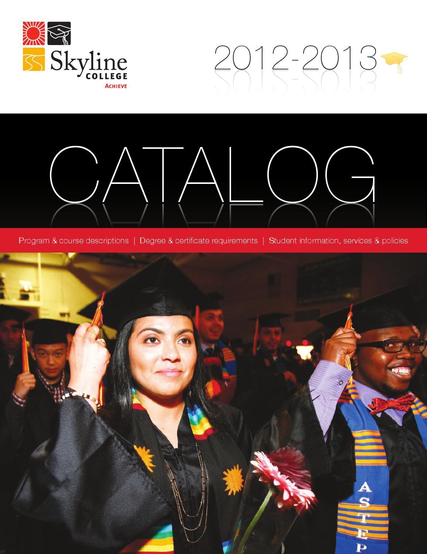 Skyline College Catalog 2012-2013 by liz gaudet - issuu