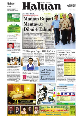 Haluan 31 Juli 2012 by Harian Haluan - issuu f29b74c2c9