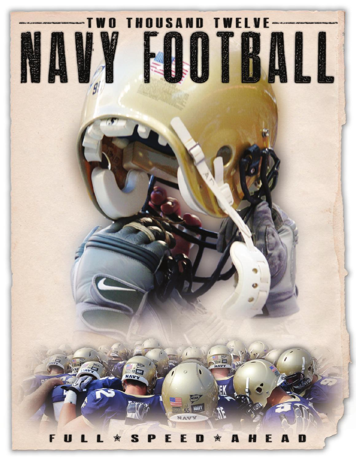 Cheap 2012 Football Guide by Naval Academy Athletic Association issuu  free shipping rHzozEeB
