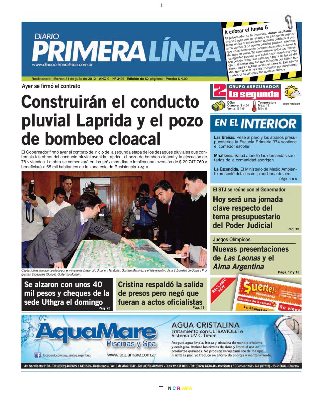 Primera Linea 3497 31-07-12 by Diario Primera Linea - issuu