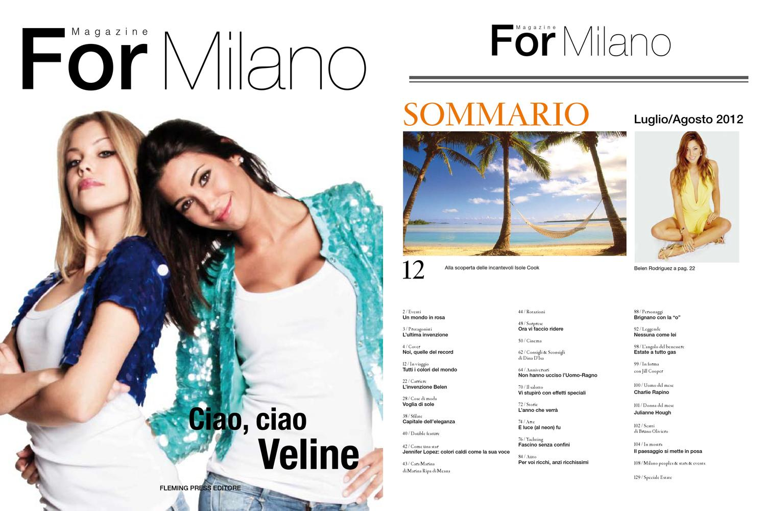 For Estate Milano By Magazine Issuu 4mag 660rq