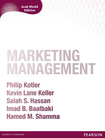 Arab world edition kotler marketing management by pearson middle page 1 fandeluxe Images