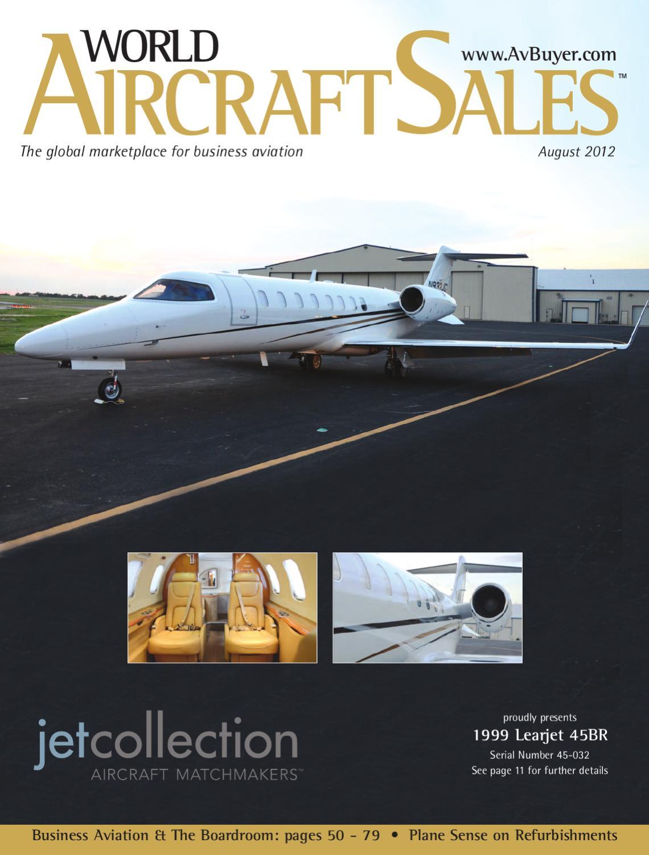 World Aircraft Sales Magazine August 12 By Avbuyer Ltd Issuu 1987 Gulfstream Wiring Diagram