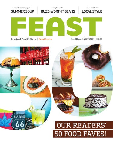August 2012 FEAST Magazine By Feast