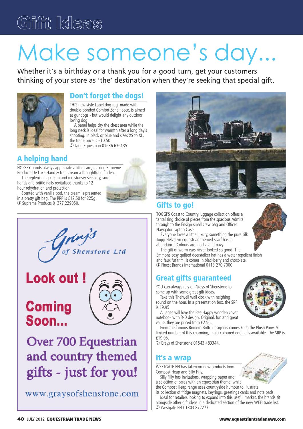Etn Equestrian Trade News July 2016