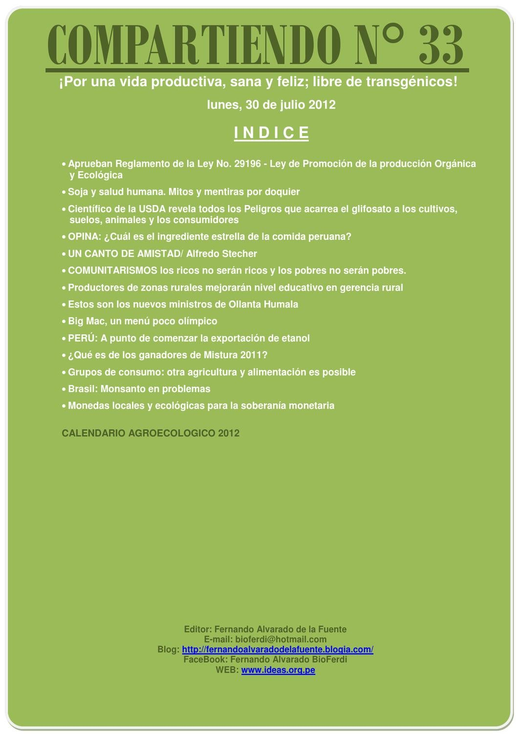 Boletin_Compartiendo12_33 by Centro Ideas ONG - issuu