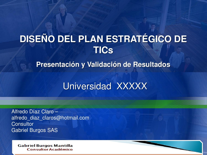 Planes TIC by Alfredo Diaz - issuu