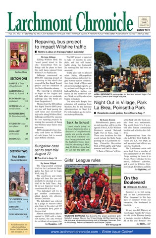 2012 08 Larchmont Chronicle By Larchmont Chronicle Issuu