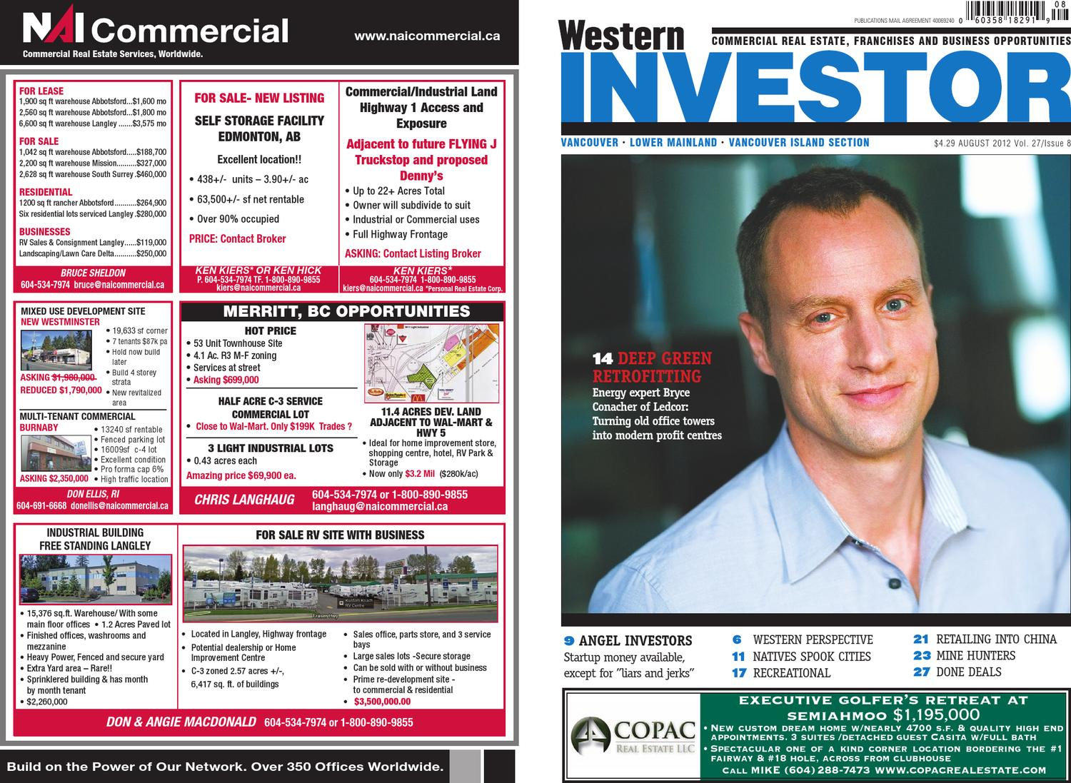 de7d1c79a22ae Western Investor August 2012 Section A by Business in Vancouver Media Group  - issuu