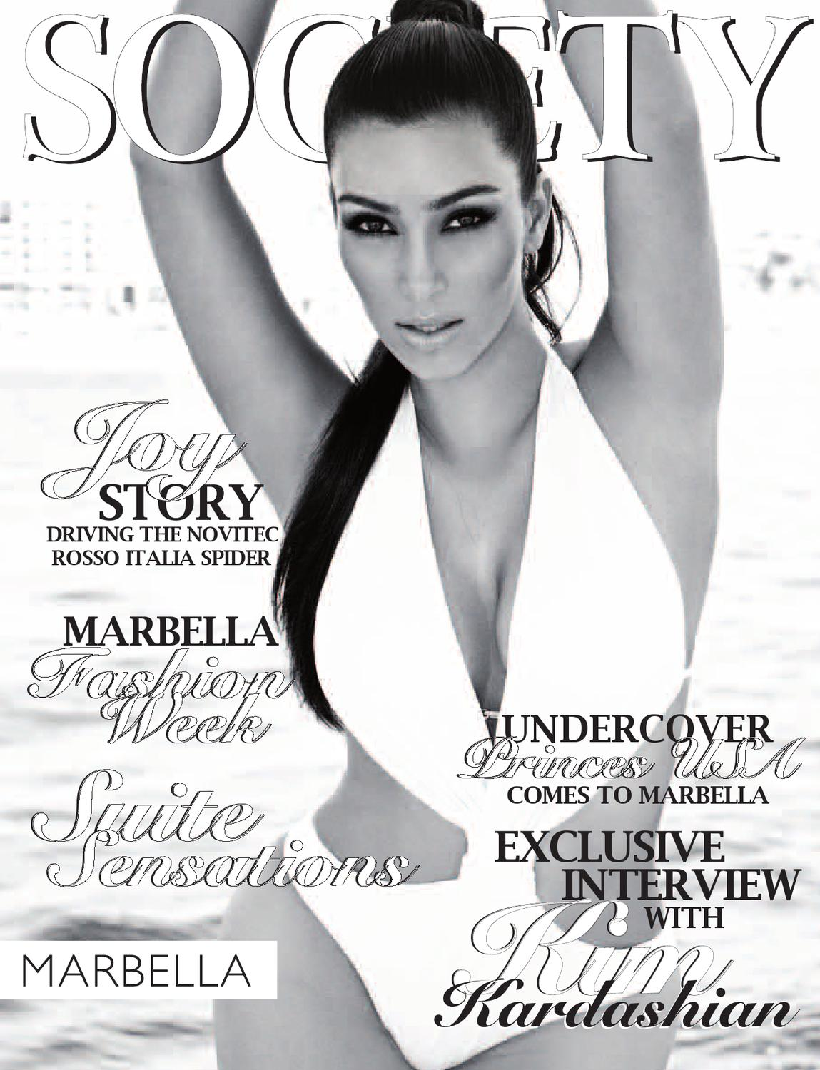 Society Marbella August 2012 by Icon Publishing - issuu