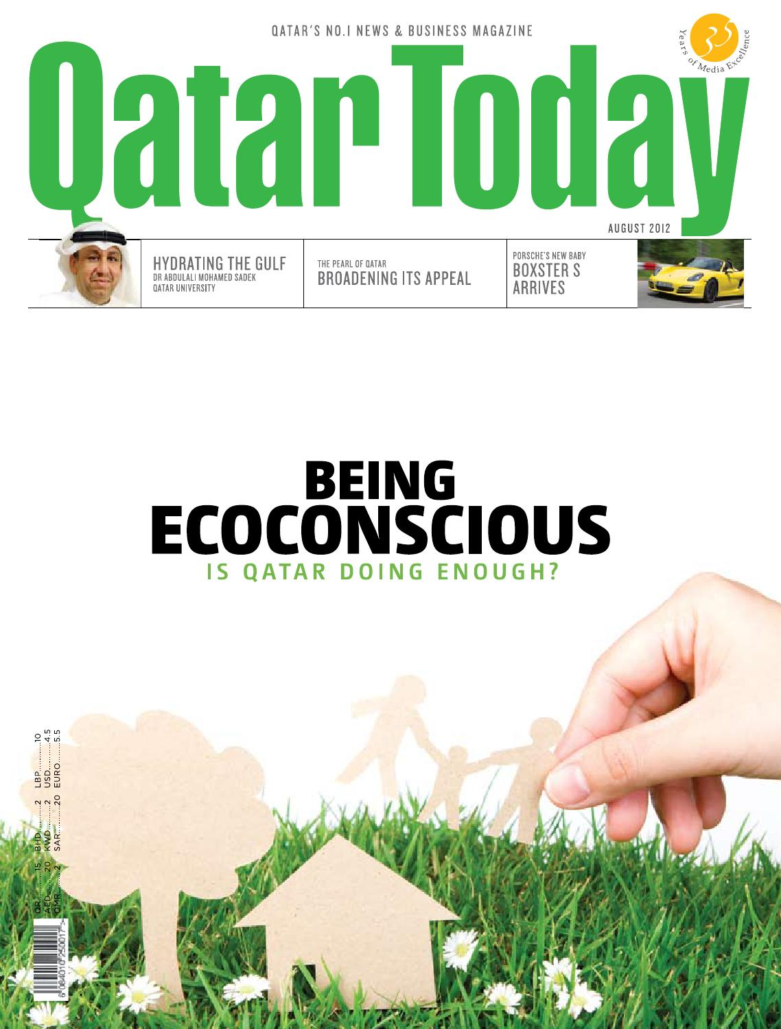 Qatar Today August 2012 by Oryx Group of Magazines - issuu